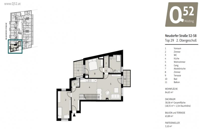 Address not available!, 3 Schlafzimmer Schlafzimmer, ,1 BadBadezimmer,Wohnung,Verkauf,1116